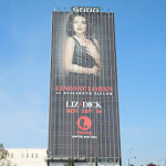 Giant Liz and Dick Lifetime billboard