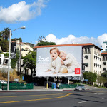 Love Baby Gap billboard