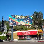 Superjail season 3 billboard Sunset Boulevard