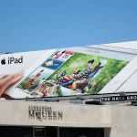 iPad On the road billboard
