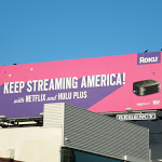 Keep streaming America Roku billboard