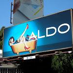 Aldo Shoes bathtub billboard