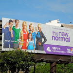New Normal sitcom billboard