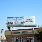 Absolut Greyhound vodka billboard installation