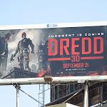Dredd 3D movie billboard
