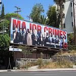 Major Crimes season 1 billboard