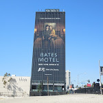 Giant Bates Motel billboard Sunset Strip