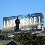 Last Resort TV billboard
