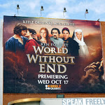 Ken Follett World Without End billboard