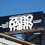 Zero Dark Thirty film billboard