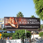 Halloween Horror Nights Universal Studios Silent Hill billboard