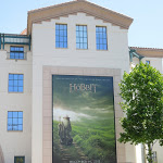 Hobbit An Unexpected Journey movie billboard