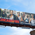 Chicago Fire NBC billboard