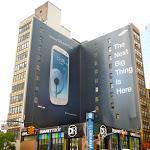 Samsung Galaxy SIII billboard NYC