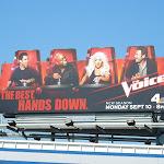 Voice season 3 special extension billboard