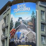 Hotel Transylvania movie ad
