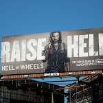 Raise Hell on Wheels season 2 billboard
