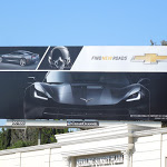 2014 Chevrolet Corvette Stingray New Roads billboard