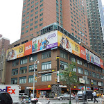 Go On billboards Broadway NYC