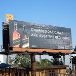 Charred Oak Johnnie Walker Double Black billboard
