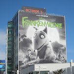 Giant Frankenweenie billboard
