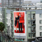 Banana Republic Holidays 2012 billboard Sunset Vine