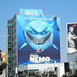Giant Finding Nemo 3D movie billboard Sunset Strip