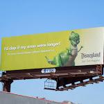 Disneyland Rex Just got happier billboard