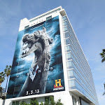 Giant Vikings billboard Andaz Hotel