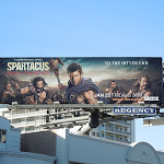 Spartacus War of the Damned Starz billboard