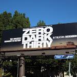Zero Dark Thirty movie billboard