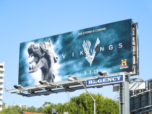 Vikings season 1 TV billboard