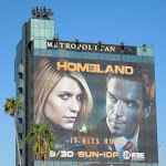 Giant Homeland season 2 billboard Sunset Boulevard