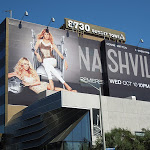 Giant Nashville billboard Sunset Strip