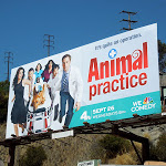 Animal Practice season 1 billboard Sunset Strip
