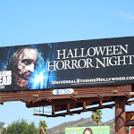 Walking Dead Halloween Horror Nights billboard