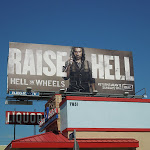 Raise Hell TV billboard