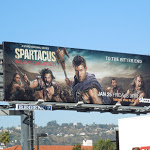 Spartacus War Damned final season billboard
