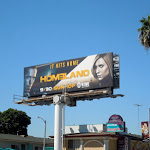 Homeland season 2 billboard Sunset Boulevard