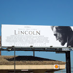 Lincoln movie billboard