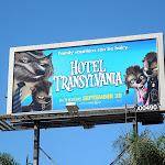 Hotel Transylvania Wolfman billboard