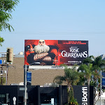 Santa Rise of the Guardians movie billboard
