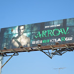 Arrow series premiere billboard