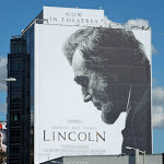 Giant Lincoln movie billboard