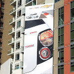 2013 Chevrolet Sonic Find New Roads billboard