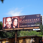 Elementary CBS billboard