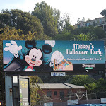 Mickeys Halloween Party 2012 digital billboard