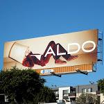 Aldo Shoes lampshade billboard FW 2012