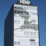Giant Game Thrones 3 dragon shadow billboard