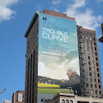 Clint Eastwood Trouble with Curve billboard NYC